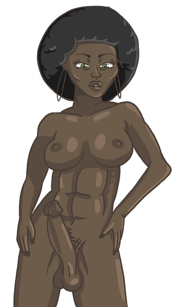 black futanari girls